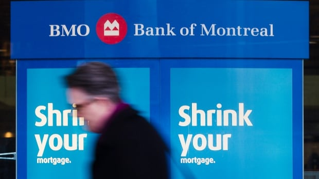 Bank of Montreal profit was flat at just over $1.1 billion.