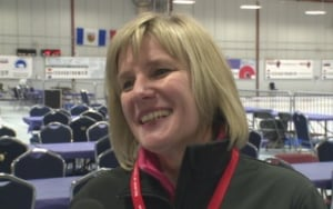 Maureen Miller Yellowknife curling
