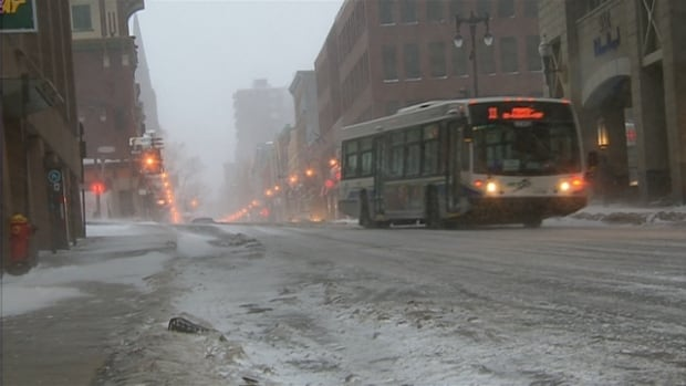 Winter conditions continued to plague much of Southern Quebec on Sunday.