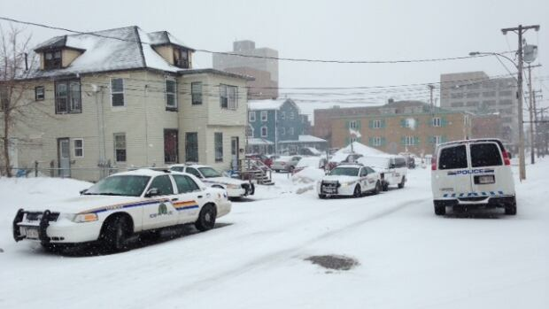 RCMP in Moncton were called to the scene of a shooting Sunday morning.