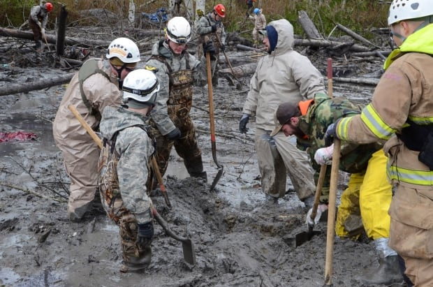 Washington mudslide search