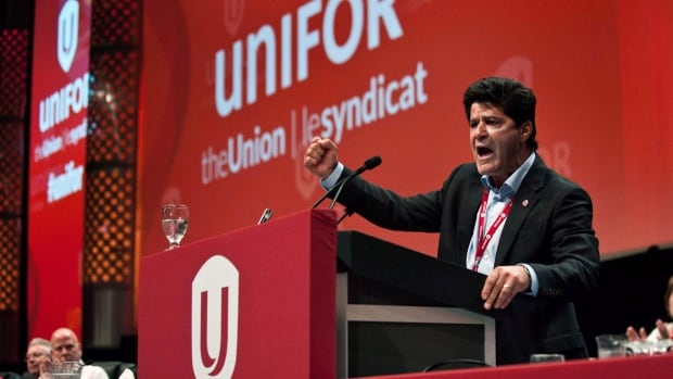 Unifor president Jerry Dias says a vote by workers at Toyota's Ontario plants in Cambridge and Woodstock to join the union is 'about strengthening the auto industry.'