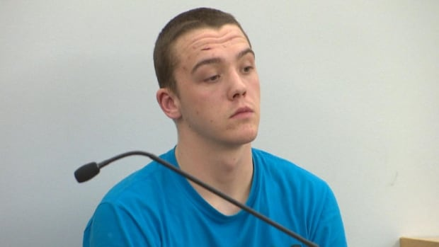Jake Long, 18, is facing serious charges after a weekend stabbing on George Street in St. John's.