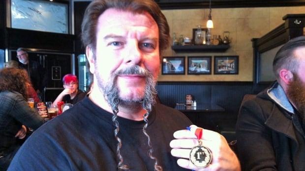 Fu Manchu beard champion Mark Wrzesniewski