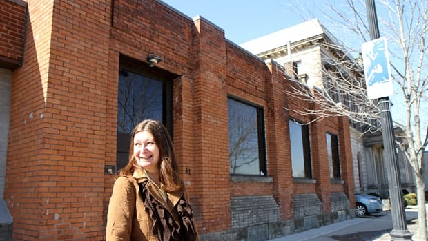 Marie Robbins and her husband Doug hope to make the former Dorion Vinegar Works building into part of a larger complex across from the new James Street North GO station.