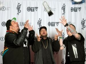 APTOPIX Juno Awards