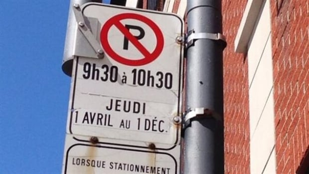 The April 1 start date of seasonal parking restrictions has been delayed in most Montreal boroughs due to the large volume of snow that fell in March which has yet to melt.