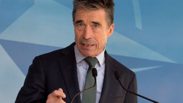 NATO Secretary General Anders Fogh Rasmussen said NATO is keeping an eye on Russian troop levels near the Ukrainian border.