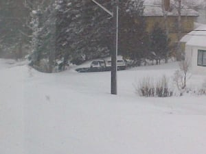 Sioux Lookout record snowfall