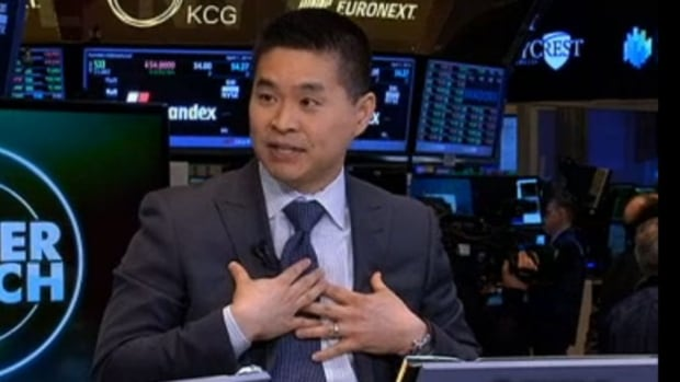 Brad Katsuyama gets star billing in Michael Lewis's new book, Flash Boys: A Wall Street Revolt, which was released on Monday. He appeared on CNBC Tuesday to debate high-frequency trader Bill O'Brien.
