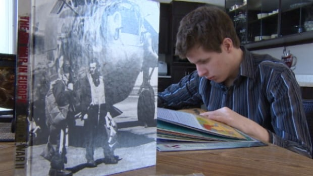 Brandon Bosma has loved reading about history since he was a little boy.