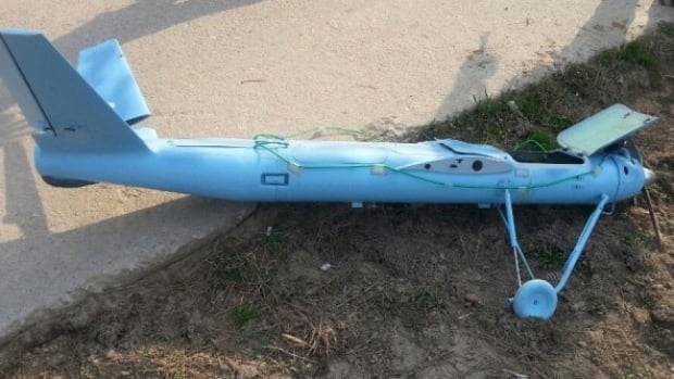 An unmanned drone crashed on Baengnyeong Island, South Korea, near the West Sea border with North Korea, when the two Koreas fired hundreds of artillery shells into each other's waters. South Korea suspects that the drone that crashed on the frontline South Korean island was flown by rival North Korea, an official said Wednesday.