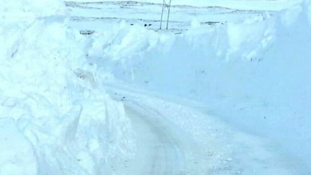 Heavy drifting on Route 470, between Port aux Basques and Isles aux Morts, has been making travel difficult.