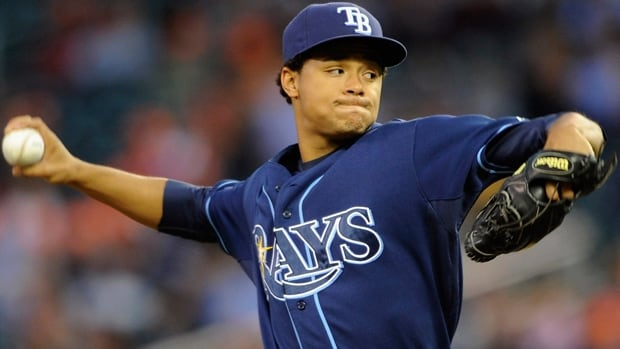 Chris Archer compiled a 9-7 record with a 3.22 ERA in 23 starts as a rookie pitcher for the Tampa Bay Rays last season.