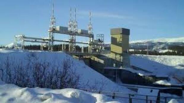 Whitehorse power dam
