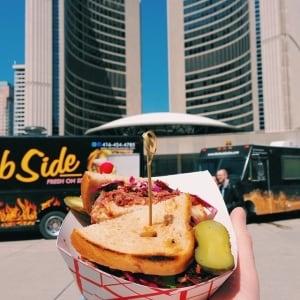 Toronto food truck rally