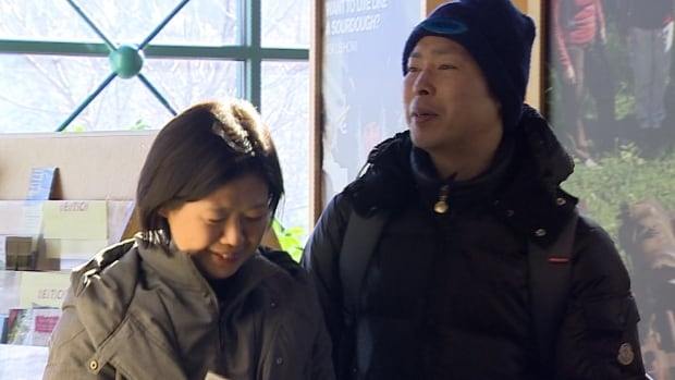 Japanese tourists in Whitehorse. The Yukon government wants to expand the Japanese tourism market, which has grown tenfold in the past few years, largely due to an incredible Northern Lights cycle that's starting to wane.