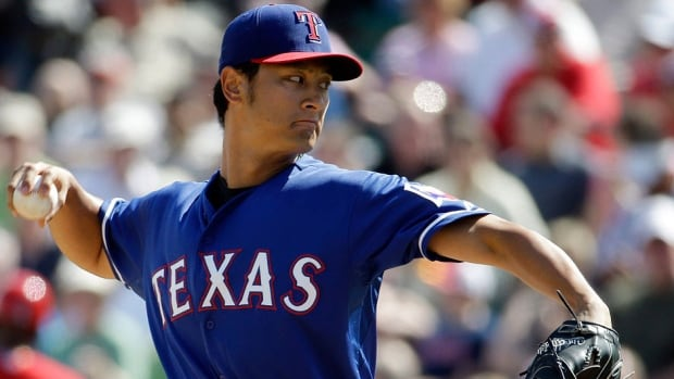 Rangers pitcher Yu Darvish will make his season debut Sunday at Tampa Bay after making it through a bullpen session without any issues after he didn't throw for more than two weeks due to a stiff neck.