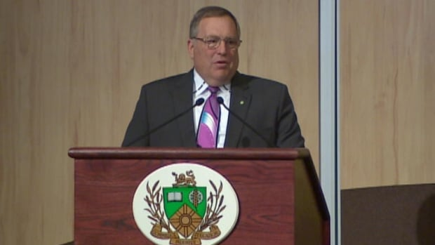 Saskatoon Mayor Don Atchison says cooperation with the city's neighbours is key to future growth.