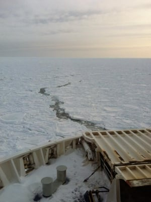 Marine Atlantic ferries stuck on ice
