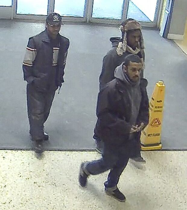 Toronto police image of 3 home invasion suspects
