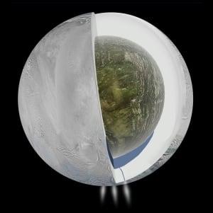 Interior of Enceladus