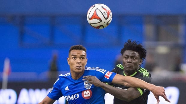Montreal Impact's Matteo Ferrari, left, seen last month, is part of a group under pressure to perform better.