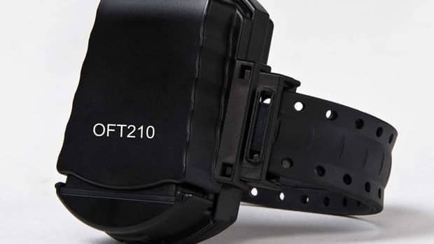 GPS monitoring bracelet