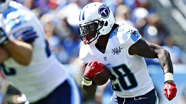 Chris Johnson ran for 2,006 yards in 2009, but hasn't cracked the 1,400-yard mark in a season since.