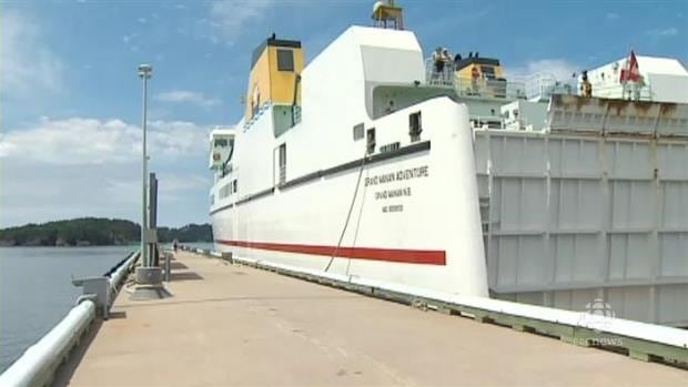 The MV Grand Manan Adventure was taken off its run Friday due to mechanical issues.