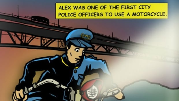 The life of Alex Decoteau is portrayed in the first issue of the Legacy of Heroes digital comic put out by Edmonton Police.