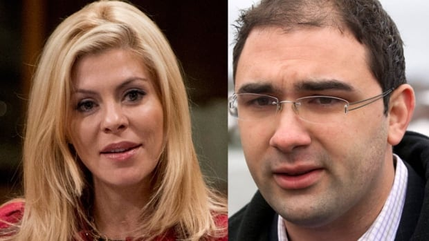 Eve Adams and Dimitri Soudas, who are in a romantic relationship, are embroiled in a political controversy over allegations that Soudas acted inappropriately by intervening in Adams's nomination campaign for a southern Ontario riding. Soudas was forced to resign as executive director of the Conservative Party.