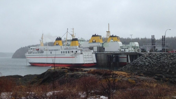 Coastal Transport Ltd. pushed the MV Grand Manan V into commission after its main ferry, the MV Grand Manan Adventure, broke down again Friday.