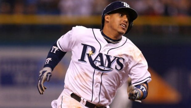 Shortstop Yunel Escobar played in a career-high 153 games and made 149 starts last season for the Tampa Bay Rays.