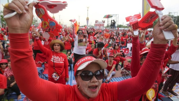 Pro-government Red Shirt members have descended on the outskirts of Bangkok for a major rally this weekend in a move aimed at countering months of anti-government protests that essentially shut down the capital city for several weeks in January.