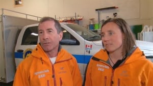 Squamish Search and Rescue - John Willcox and Katy Chambers