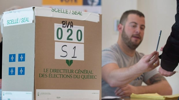 Polling stations are open from 9:30 a.m. to 8 p.m across Quebec on April 7.