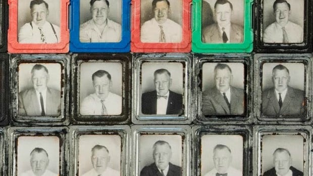 The collection of 445 self-portraits featuring an unknown man remains a mystery to photo historians about his identity and how the photos came to exist.