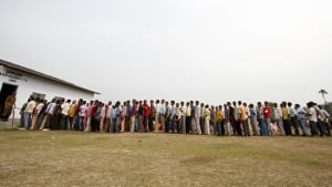 India election line