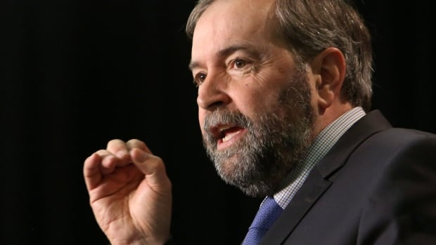 NDP Leader Tom Mulcair is asking Tory MPs to vote against an election reform bill he calls 'profoundly anti-democratic.'