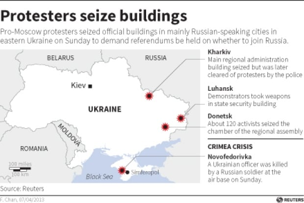 Ukraine-protesters-seize-bldgs-apr-7