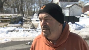 Ron Sharpe witnessed Glace Bay accident