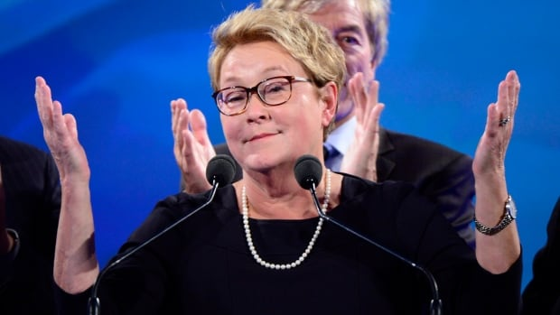 Former premier Pauline Marois introduced $5-a-day daycare when she was education minister.