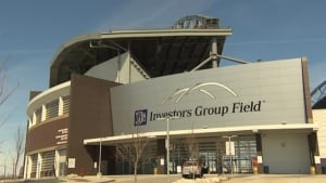 Investors Group Field, April 2014
