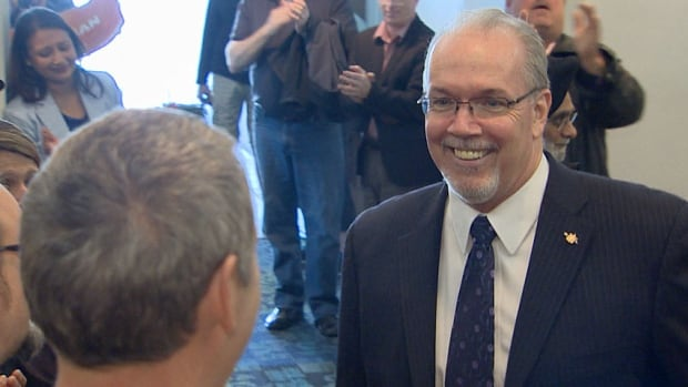 Victoria area MLA John Horgan has been acclaimed as the new leader of the B.C. NDP.