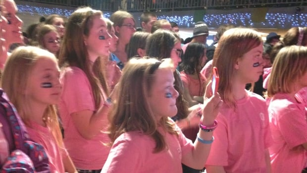 Pink Days to promote anti-bullying efforts, like this one in 2014, have become a regular event in Saskatchewan.