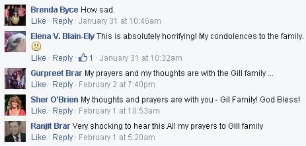 Gurpreet Brar Facebook Ottawa Citizen post Jagtar Gill homicide