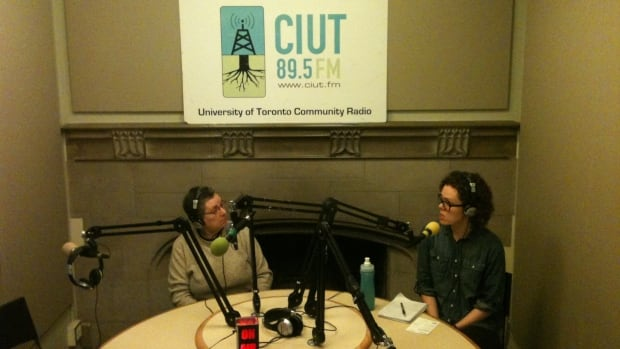A broadcast of CIUT-FM, in peril of losing its signal after a transmitter died.