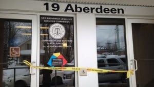 Suspicious package at 19 Aberdeen St. in Campbellton