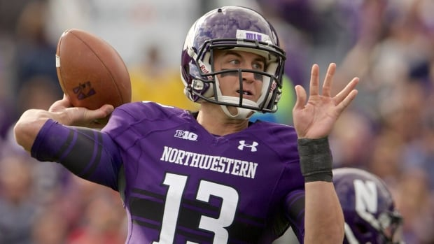 Quarterback Trevor Siemian of the Northwestern Wildcats revealed Wednesday that he believes his school's football players, led by former quarterback Kain Colter, took the wrong approach in seeking unionization.